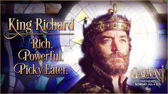 King Richard (Timothy Omundson) in Galavant