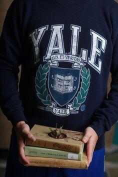 Vintage Yale University Sweatshirt 1989 by VintageVanShop on Etsy, $25.00
