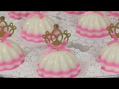 Baby Shower Princess, Pink Princess, Princess Birthday, Princess Party, Puding Art, Jelly Cake, Jello Recipes, Ideas Para Fiestas, Birthday Parties