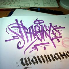 Rasko (@rasko1) on a chisel vibe!  #rasko #handstyle #graffiti //follow @handstyler on Instagram