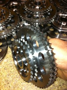 427 Sohc One piece timing sprocket Gym Equipment, Plates, Licence Plates, Plate, Dish, Workout Equipment, Exercise Equipment, Dishes, Fitness Equipment