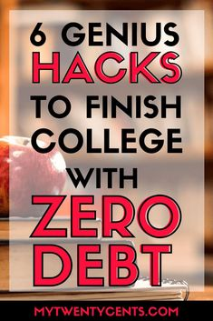 These are some serious hacks to graduate college debt-free! I am so inspired! Who knew that avoiding debt could be so easy? #student #college #debtpayoff