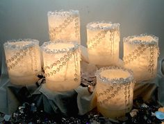 CRYSTAL LUMINARIES HAND MADE IN THE USA  WISHFULWICKS.COM