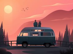 Travelers by Patryk Wojciechowicz 👀 Morning Inspiration, Design Inspiration, Black And White Comics, Illustration Sketches, Illustrations, North Vancouver, Job Opening, Night Skies, Vector Art