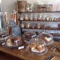 Photos of Tatte Bakery & Cafe - Brookline, MA. Baked goods for days! Get in my belly! Bakery Decor, Bakery Interior, Cafe Interior Design, Bakery Store, Bakery Cafe, Cafe Restaurant, Cafe Display, Bakery Display, My Coffee Shop