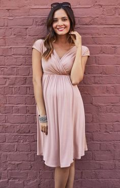 Francesca Maternity Dress in Blush – Maternity Wedding Dresses, Evening Wear and Party Clothes by Tiffany Rose Robe de grossesse Francesca Blush de Tiffany Rose Summer Maternity Fashion, Maternity Dresses For Baby Shower, Stylish Maternity, Maternity Wear, Maternity Wedding, Pink Blush Maternity, Pink Baby Shower Dress, Maternity Dresses Summer, Pregnancy Costumes
