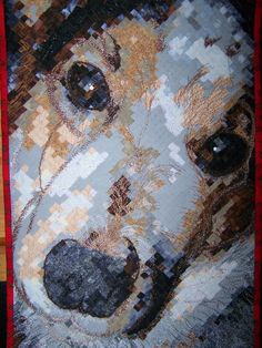 Schroeder quilt.  He was such an awesome dog.....