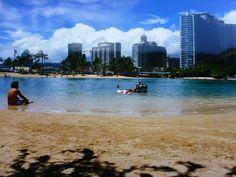 1988 Waikiki Beach, Hawaii