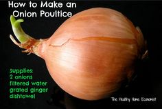 How to Make and Use an Onion Poultice for Congestion