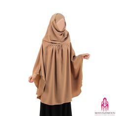 Khimar à fronces - Al Moultazimoun #Overhead #khimar #jilbab #cardigan #jilbab…
