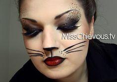 Sexy Cat Makeup