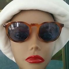 Retro Round Light Tortoise Sunglasses Retro Style Light Tortoise frames  Gray tint lens 100% UV protection  Universal Bridge nose  Nice condition minor non noticeable flaws in lens  Nice quality  Ready to go from my house to yours Bundles available with discounts Accessories Sunglasses