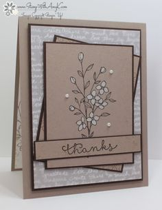 Stampin' Up! Touches of Texture in Neutrals