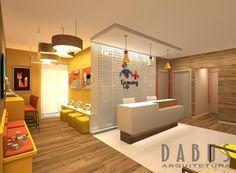 Medical Office Design, Home Office Design, Home Office Decor, Clinic Interior Design, Clinic Design, Room Maker, Kindergarten Interior, Daycare Design, Hospital Design