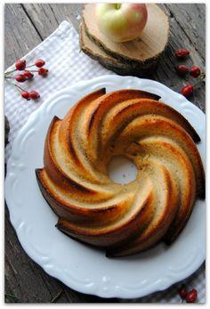 gâteau à la compote de pommes