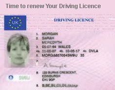 Learn how to renew your driving licence online in Uk
