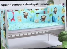 42.80$  Watch here - http://ali8on.worldwells.pw/go.php?t=32337227374 - Promotion! 6PCS Hello Kitty Baby bedding set cot crib bedding set 100% cotton baby bedclothes (bumpers+sheet+pillow cover) 42.80$