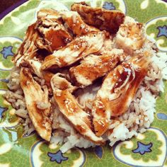 Made It. Ate It. Loved It.: Crock Pot Teriyaki Chicken. This was super simple to make, with easy to find ingredients and the family loved it. Usually crock pot recipes come out with a very thin sauce but this recipe has directions for thickening the sauce at the end and it really made a difference. My kids asked for seconds which is always a good sign! I served it with steamed broccoli.