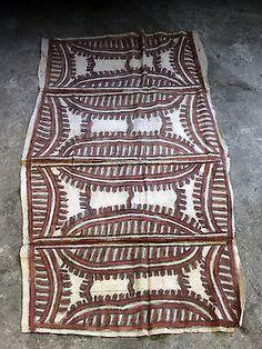 old-beautifull-TAPA-bark-cloth-North-Coast-spectacular-Papua-New-Guinea