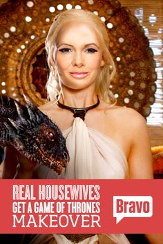 Do you recognize this Housewife? See what happens when 'The Real Housewives' meet 'Game of Thrones.'
