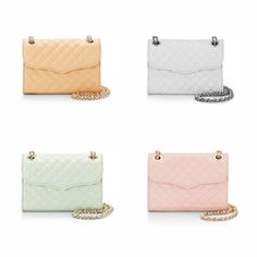 Which color do you prefer? Until 6/07, #RebeccaMinkoff is offering an extra 20% off sale items with coupon code. Yes, this sale includes all these colors. :) Enjoy. Reveal Coupon Code Here: http://www.shop2fund.com/coupon/extra-20-off-sale-items-31/836022  #handbags #crossbodies #clutches #wallets #tops #summerstyle #shoes