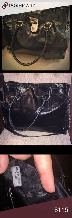 Authentic Michael Kors Bag LARGE MK Purse in Excellent condition! Comes with the long strap.  No trades. Michael Kors Bags Shoulder Bags