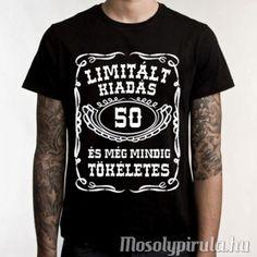 Limitált 50-es - szülinapi póló