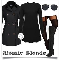 Atomic Blonde 2 by curvygeekyfangirl on Polyvore featuring ASOS Curve and plus size clothing