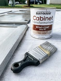 The BEST Paint for Kitchen Cabinets – Love & Renovations Rustoleum Cabinet Transformation, Cabinet Transformations, Cabinet Makeover, Update Kitchen Cabinets, Painting Kitchen Cabinets, Kitchen Ideas, Kitchen Reno, Kitchen Design, Best Paint For Kitchen