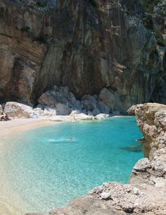 "breathtakingdestinations: "" Cala Mariolu - Sardinia - Italy (by paula soler-moya) """