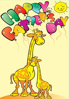 Insert PERSONALISED GIRAFFE BIRTHDAY MOTHERS FATHERS DAY ANY OCCASION CARD