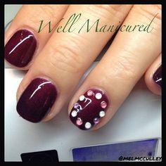 Fall inspired nails with embellishments for Edina. Color by #LeChat Mood gel. #wellmanicured #nails #nailart #manicure #manhattanbeach #southbay #intheheartofthesouthbay #shortnails #artist #gel #gems #gelmanicure #allisonbythebeach #bestnailsinthesouthbay #customdesigns #fallnails #fallbeauty #fall #gelpolish #hermosabeach #instadaily #ilovemyjob #nailpics #nailartist#nailartclub#nails2inspire#nailsmagazine#nailpromagazine#trends #Padgram