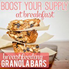 Breastfeeding Bars Pinterest  Great easy snack for breastfeeding moms