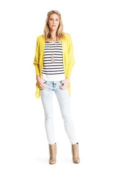 Hello yellow! Ga eens voor iets anders dan veilig wit, zwart of donkerblauw. #missetam
