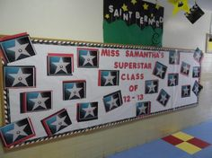 superstar class of 2012 2013 hollywood themed classroom display