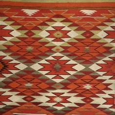 NAVAJO (with Daisy Nampeyo) - Antique Geometric Quilt Designs. Based on a traditional native American blanket design, NAVAJO first appeared in the LADIES ART COMPANY Catalogue (#513) in 1928, according to Barbara Brackman's ENCYCLOPEDIA OF PIECED QUILT PATTERNS (#2847) and Jinney Beyer's QUILTER'S ALBUM (#109-8). Nancy Cabot illustrated this block in August, 1934, where she says that many quilt patterns were originally adapted from native American designs.