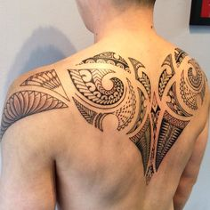 45 Superb Back Tattoo Designs For Men & Women