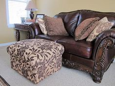 DIY Ottoman, Build your own from scratch DIY home furniture