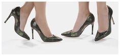 #Magrit SOFISTICATION TIME Pieles exclusivas de pitón con reflejos metalizados que se adaptan a tu pie, aportando la sofisticación y sutileza propias de los acabados de primera calidad. MILA PITÓN VERDE: Salón de 10 cm de tacón con imprimación de verdes que varían su intensidad a cada paso, mostrando cobres y dorados con la intensidad de la luz. LINK WEB: http://www.magrit.es/es-ES/mila-pitonverde-476