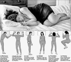 positions pour bien dormir