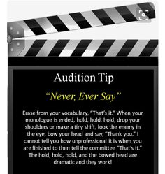 best 25 theatre quotes ideas on musical Theatre Auditions, Drama Theatre, Theatre Nerds, Music Theater, Musical Theatre Quotes, Theatre Jokes, Acting Quotes, Acting Tips, Voice Acting