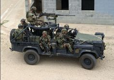 U.S. ARMY Special Forces LAND ROVER