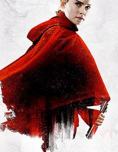 """daisyridleyupdated: """"Daisy Ridley as Rey in a promotional poster for Star Wars: The Last Jedi """" Rey Star Wars, Star Wars Fan Art, Episode Iv, Daisy Ridley, Warrior Girl, Ewok, Upcoming Films, Star Wars Poster, Last Jedi"""