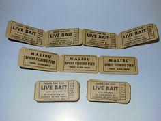 Bait Tickets,Malibu,Pier,Malibu,California.