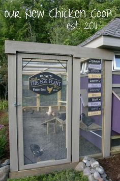 i want to have that chicken coop