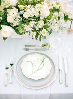 Photography : The Grovers Read More on SMP: http://www.stylemepretty.com/2016/05/25/the-ultimate-something-blue-wedding-inspiration/