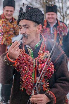 Hutsul zapalyv sy faiku, Ukraine, from Iryna