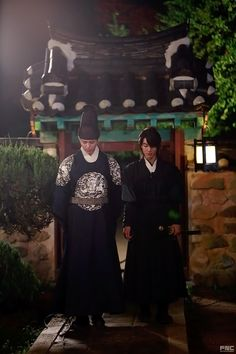 """""""park bo gum and kwak dong yeon in moonlight drawn by clouds ✧ behind the x """" Love In The Moonlight Kdrama, Chief Kim, Kwak Dong Yeon, Moonlight Drawn By Clouds, Korean Drama Movies, Korean Dramas, Best Dramas, Falling In Love With Him, Bo Gum"""