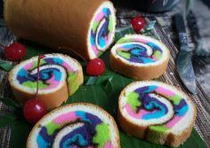 Mosaic Roll Cake   Bolu Gulung Mosaic