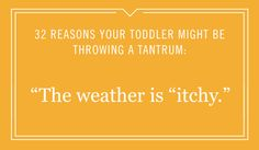 Does your toddler have a bad temper? Sometimes it's best to look for the humor in your kid's meltdown.